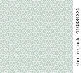 seamless islamic pattern. ... | Shutterstock .eps vector #410384335