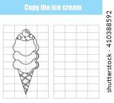 Copy Ice Cream Using A Grid....
