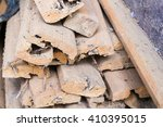 Old Waste Wood Pile From...