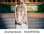 editorial fashion shooting in... | Shutterstock . vector #410395546