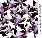 seamless floral pattern with... | Shutterstock . vector #410404306