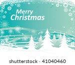 christmas background | Shutterstock .eps vector #41040460