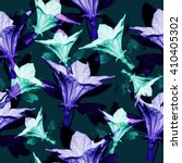 seamless floral pattern with... | Shutterstock . vector #410405302