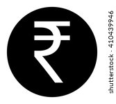 indian rupee coin icon vector... | Shutterstock .eps vector #410439946