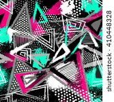 abstract seamless chaotic... | Shutterstock .eps vector #410448328