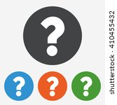 question mark icon. help symbol.... | Shutterstock .eps vector #410455432