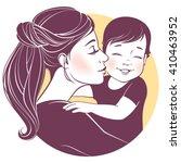 vector illustration. tender... | Shutterstock .eps vector #410463952