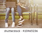 women friendship studying...   Shutterstock . vector #410465236