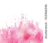 vector watercolor pink... | Shutterstock .eps vector #410466346