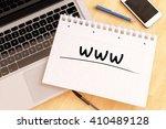 www   world wide web  ... | Shutterstock . vector #410489128
