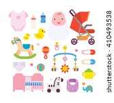 baby icons | Shutterstock .eps vector #410493538