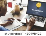 knowledge expertise... | Shutterstock . vector #410498422