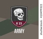 army military stamp  label ... | Shutterstock .eps vector #410499322
