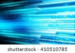blue abstract hi speed internet ...   Shutterstock . vector #410510785