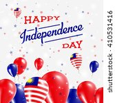malaysia independence day... | Shutterstock .eps vector #410531416
