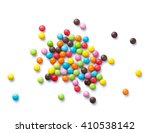 Colorful Candies. Isolated On...