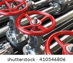 Oil Or Gas Pipe Line Valves. 3...