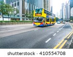 motion double decker bus... | Shutterstock . vector #410554708