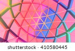 3d illustration of network grid   Shutterstock . vector #410580445