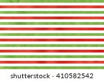 watercolor red and green... | Shutterstock . vector #410582542