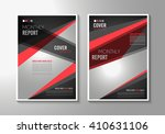 brochure template  flyer design ... | Shutterstock .eps vector #410631106