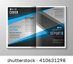 brochure template  flyer design ... | Shutterstock .eps vector #410631298