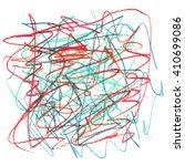 dash color abstract watercolor | Shutterstock . vector #410699086