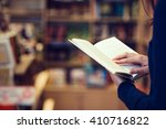 reading a book | Shutterstock . vector #410716822