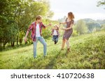 photo of a young family... | Shutterstock . vector #410720638