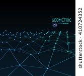 technology vector background.... | Shutterstock .eps vector #410724352