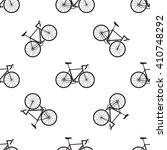 Seamless Bicycles Pattern....