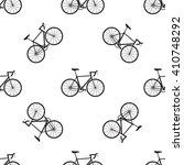 Seamless Bicycles Pattern....