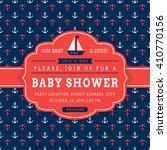 Nautical Baby Shower. Sea Them...