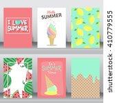 summer  holiday  vacation... | Shutterstock .eps vector #410779555