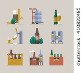 vector design with beer...   Shutterstock .eps vector #410822485