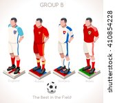 france euro 2016.soccer group b ... | Shutterstock .eps vector #410854228