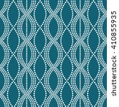 vector seamless chain pattern.... | Shutterstock .eps vector #410855935