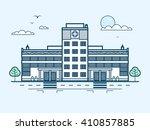 stock vector illustration city... | Shutterstock .eps vector #410857885
