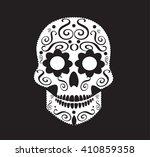 Skull Vector Ornament For...