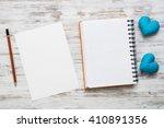 love message or invitation | Shutterstock . vector #410891356