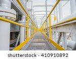 industrial walkway | Shutterstock . vector #410910892