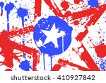 american grunge background with ... | Shutterstock .eps vector #410927842
