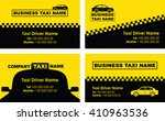 taxi background business card | Shutterstock .eps vector #410963536