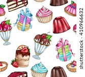 raster seamless background with ... | Shutterstock . vector #410966632