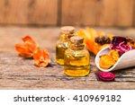 bottle of aroma essential oil... | Shutterstock . vector #410969182