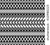 seamless boho pattern with... | Shutterstock .eps vector #410980225