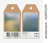 vector tags design on both...   Shutterstock .eps vector #410991295