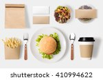 design concept of mock up... | Shutterstock . vector #410994622