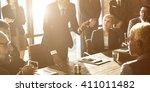 teamwork togetherness unity... | Shutterstock . vector #411011482