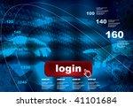 abstract vector background | Shutterstock .eps vector #41101684